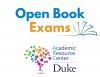Open Book Exams with Academic Resource Center Logo